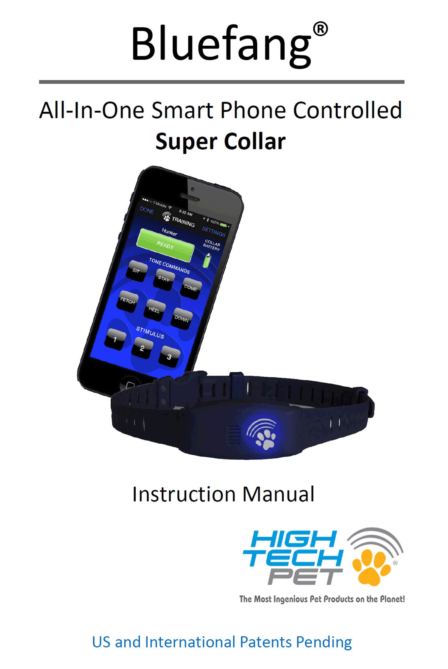 Need help? Check out our Bluefang collar manual