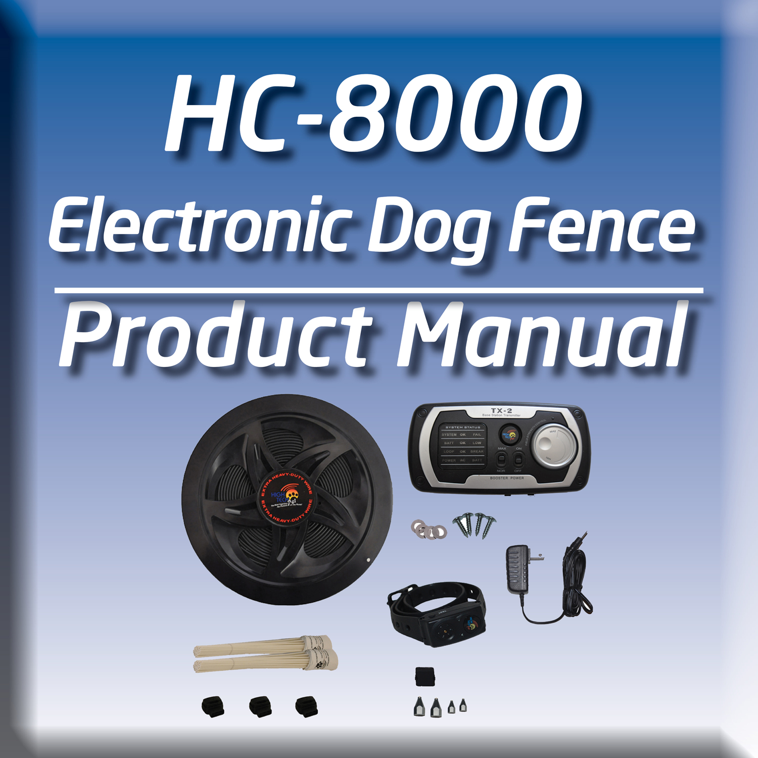 Our humane contain system manual offers help with your invisible fence