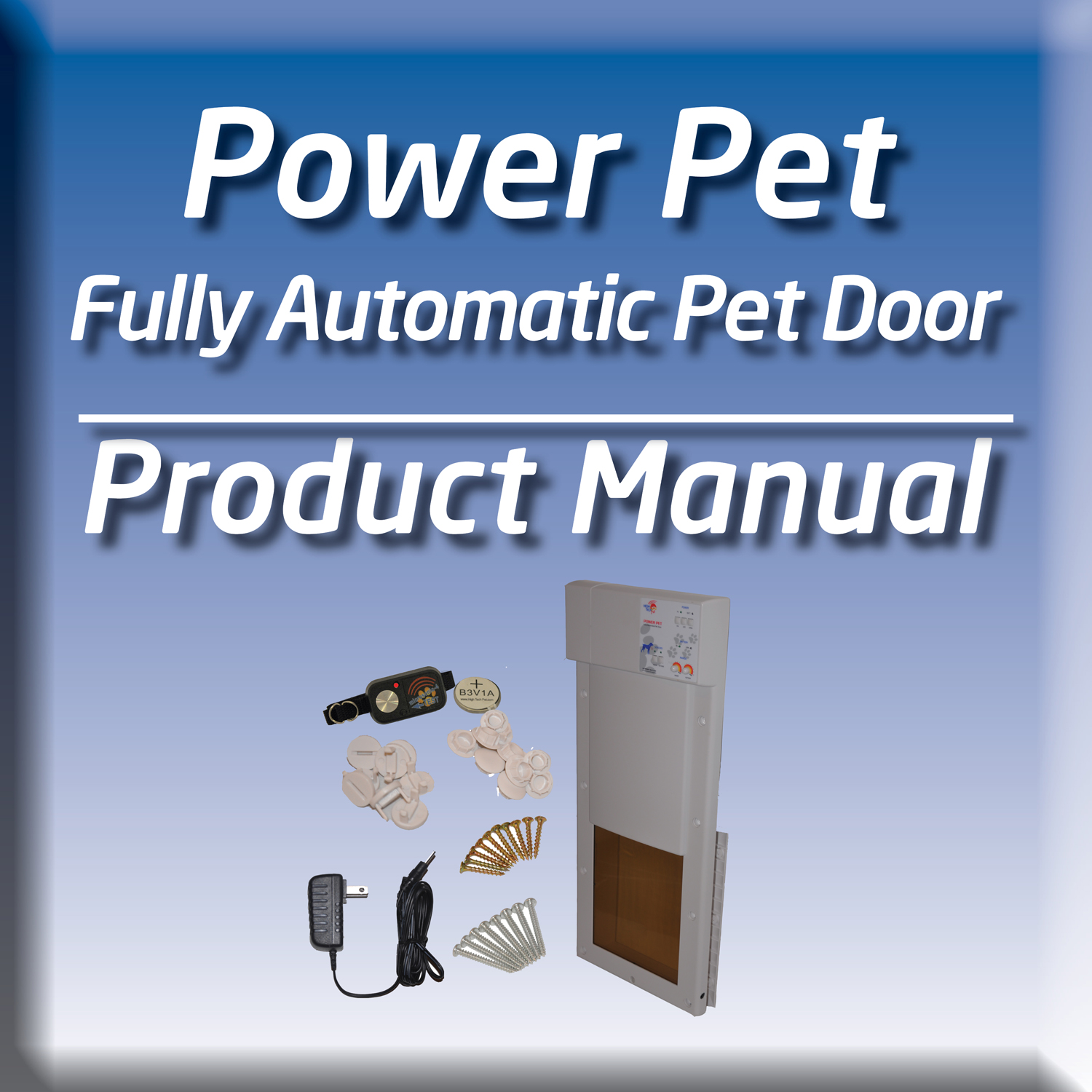 Keep your dog safe and free with this dog door